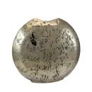 Kaheku Vase Loukia rund antik gold Aluminium 39 cm x 10...