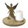 Casablanca Dekoteller/Leuchter Engel  Nobis  D.27cm  Höhe: 27 cm  Ø 27 cm 43144