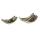 Casablanca Schale Swing Alu,antik-goldfarb. L.38cm  Höhe: 15 cm  Breite: 38 cm  Tiefe: 22 cm 43186