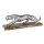 Casablanca Skulptur Panther Alu/Mangoholz L.51cm  Höhe: 17 cm  Breite: 51 cm  Tiefe: 13 cm 43200