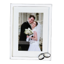 Casablanca Fotorahmen Hochzeit weiss/silb,Met 10x15cm...