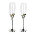 Casablanca Champagnerglas Goldhearts Met/Glas 2er Set...