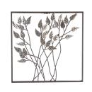 Casablanca Wanddeko Blätter Metall,braun/silb...