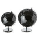 Casablanca Globus World schwarz/silber D.25cm  Höhe:...