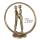 Casablanca Design Skulptur Forever goldfarben  Höhe: 19 cm  Breite: 18 cm  Tiefe: 7 cm 74914