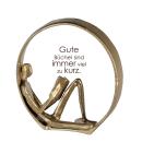 Casablanca Design Skulptur Novel goldfarben  Höhe:...