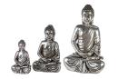 Casablanca Buddha,Magn,ant.silber,H.41/B.26cm  Höhe:...