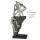 Casablanca Skulptur Friends Poly,ant.silber  Höhe: 38.50 cm  Breite: 16 cm  Tiefe: 15 cm 79879