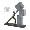 Casablanca Skulptur Stacking Poly,broncefarb.  Höhe:...