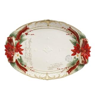 Goebel Schale Weihnachtsstern Fitz & Floyd Christmas Collection 51000921