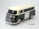 """Romanowski Design Tischuhr """"Camping Van"""" mit..."""