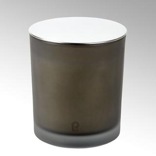 Lambert Emilia Duftkerze im Glas mit Deckel, rauch  H10 D9 38090