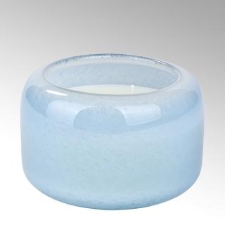 Lambert Emanuelle Duftkerze im Glas, blau, H 8  cm D 13 cm 38087