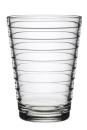 Iittala Aino Aalto Glas - 33 cl - Klar - 2 Stück