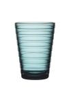 Iittala Aino Aalto Glas - 33 cl - Meeresblau - 2 Stück