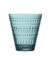 Iittala Kastehelmi Glas - 30 cl - Meeresblau - 2 Stück