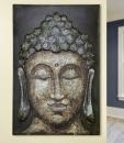 """Gilde Bild Buddha """"Siddhartha"""" auf Holz..."""