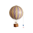 Authentic Models Ballon Travels Light, 18 cm Lavender AP161L