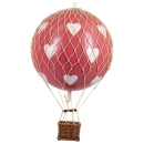 Authentic Models Ballon Travels Light, Red Hearts AP161RH