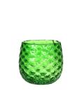 Kaheku Windlicht Giada grün, Ø 16 cm,...