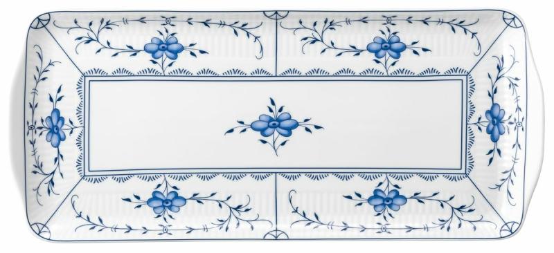 Tettau Amina Kuchenplatte eckig 35x15,5 cm Strohblume 004.106300