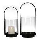 """Casablanca Windlicht """"Lantern"""" Metall / Glas ...."""