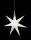 8Seasons Shining Glory Star Ø 70 cm (LED) 32049L