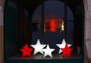 8Seasons Shining Star Ø 100 cm (rot) 32379
