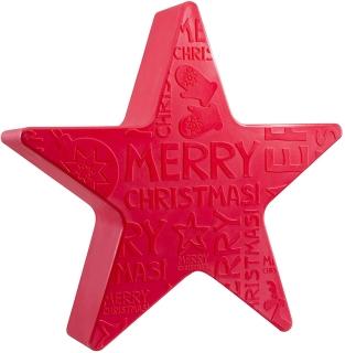 "8Seasons Shining Star ""Merry Christmas"" Ø 60 cm (rot) 32494"
