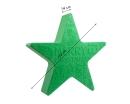"""8Seasons Shining Star """"Merry Christmas"""" Ø 60 cm (grün) 32496"""