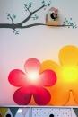 8Seasons Shining Flower Ø 40 cm (solar/ pink) 32402S