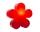 8Seasons Shining Flower Ø 40 cm (solar/ rot) 32405S