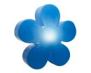 8Seasons Shining Flower Ø 60 cm (blau) 32276