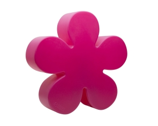 8Seasons Shining Flower Ø 60 cm (solar/ pink) 32425S