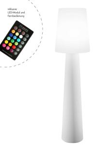 """8Seasons No. 1 """"White"""" H160 cm (LED) 32563L"""