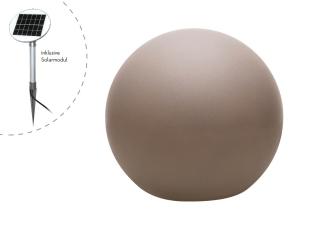 8Seasons Shining Globe Ø 60 cm Taupe (Solar) 42445S