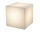 8Seasons Shining Cube 33 cm Grey 42400