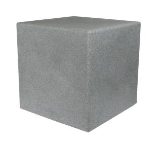 8Seasons Shining Cube 43 cm Stone 42408