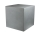 8Seasons Shining Cube 43 cm Grey 42406