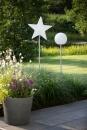 8Seasons Star Merry X-Mas on Stick 100 cm (LED) 32533L