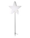 8Seasons Star Merry X-Mas on Stick 130 cm (LED) 32534L