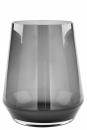 Fink Linea, Vase, Windlicht, Glas, grau, H= 28 cm,...