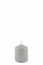 Fink Candle, Kerze, Paraffin, perlmutt, shiny, H= 10 cm,...