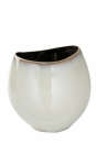 Fink ANTEA Vase,Keramik,Glasur,creme  Höhe 22cm,...