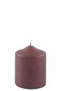 Fink Candle, Kerze, Paraffin, bordeaux, H= 10 cm,...