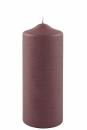 Fink Candle, Kerze, Paraffin, bordeaux, H= 20 cm,...