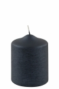 Fink Candle, Kerze, Paraffin, blueberry, H= 10 cm,...