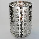 Fink Joris, Windlicht mit Glas, Edelstahl, H= 41cm,...