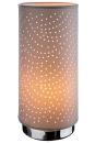 "Gilde Lampe ""Spotlight"" grau  H= 33,0 cm..."