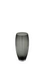 Fink AFRICA Vase,Glas,grau  Höhe 28cm, Ø 14cm...